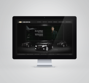 "<span>General Motors Chevrolet ""Bold New Era"" Microsite</span><i>→</i>"